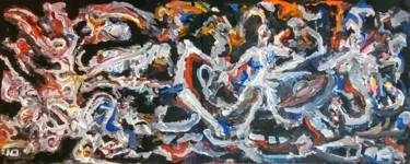 Abstract Painting, acrylic, abstract, artwork by Andrew Walaszek