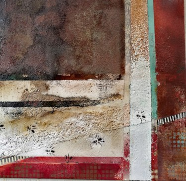 Painting, acrylic, abstract, artwork by Angelika Wesener