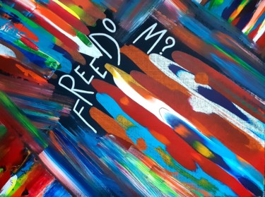 Color Painting, acrylic, abstract, artwork by Angelique Mouton
