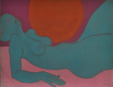 19.7x25.6 in ©1984 by Philippe Jamin