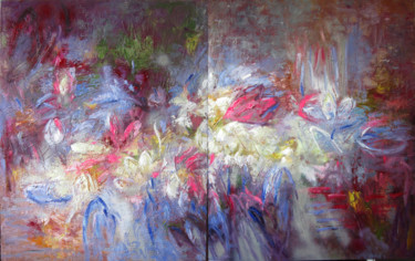 """Painting titled """"radiate incense ( s…"""" by Anh Tuan Le, Original Art, Oil"""