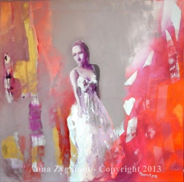 Painting, oil, figurative, artwork by Anna Zygmunt Art