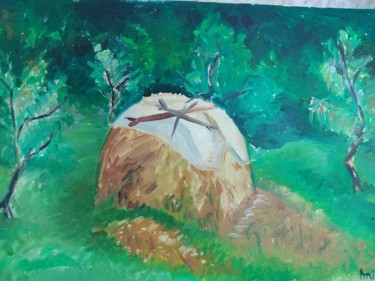 Painting, oil, classicism, artwork by Simionescu Elena