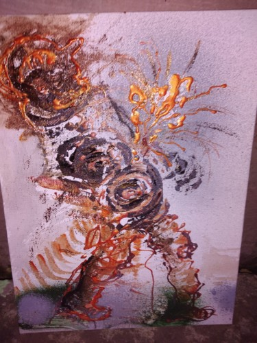 Painting, acrylic, abstract, artwork by Simionescu Elena