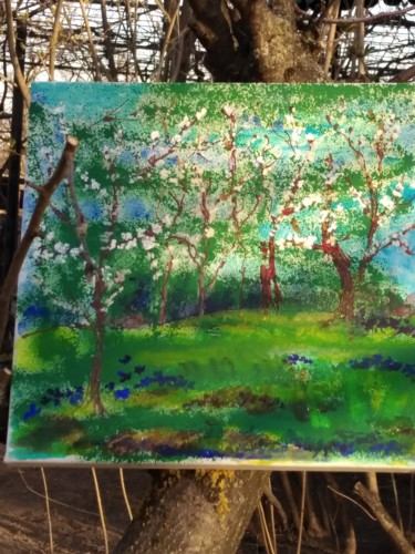 Color Painting, acrylic, classicism, artwork by Simionescu Elena
