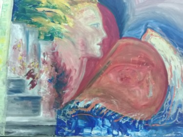 Color Painting, oil, abstract, artwork by Simionescu Elena