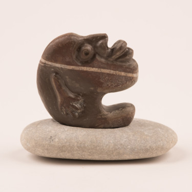 """Sculpture titled """"When you have somet…"""" by Aliaksei Andreyeu, Original Art, Stone"""