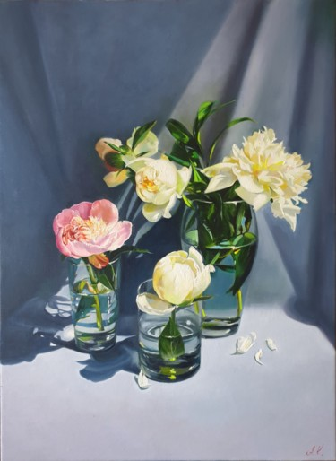 """Painting titled """"And one of them is…"""" by Anna Kotelnik, Original Art, Oil"""