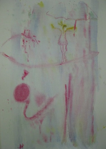 """Painting titled """"Equilibrist"""" by Anna Jagla, Original Art,"""