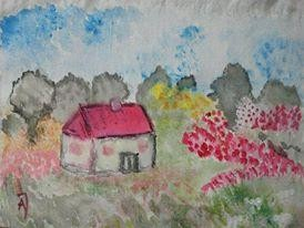 """Painting titled """"""""Spring"""""""" by Anna Jagla, Original Art,"""