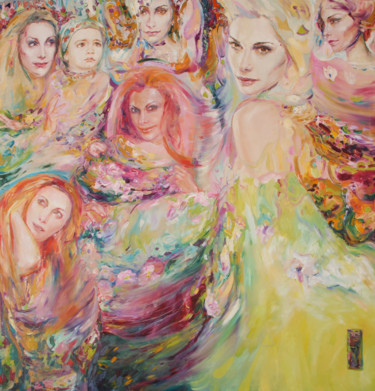 """Painting titled """"Spring"""" by Anna Privaloff, Original Art, Oil"""