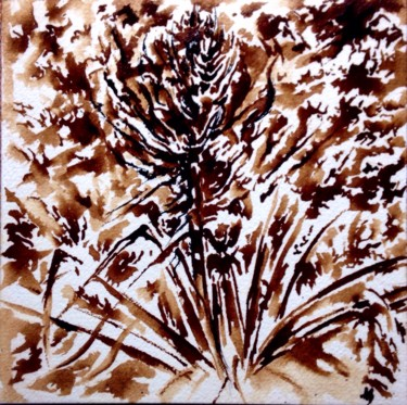 """Painting titled """"Sauvage"""" by Anne Brigaud, Original Art,"""