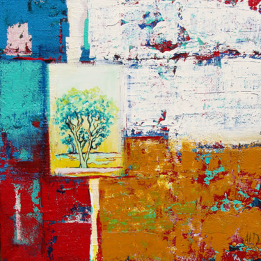 Painting, acrylic, abstract, artwork by Anne Le Doré