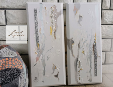 """Painting titled """"White Paintings, Ab…"""" by Annet Loginova, Original Art, Acrylic"""