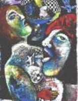 """Painting titled """"Have Life abundantly"""" by Annette Du Plessis, Original Art,"""