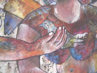"""Collages titled """"From African origin…"""" by Annette Du Plessis, Original Art,"""