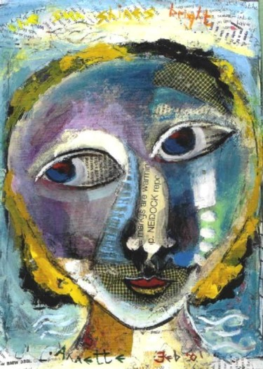 """Painting titled """"The Markings are wa…"""" by Annette Du Plessis, Original Art,"""