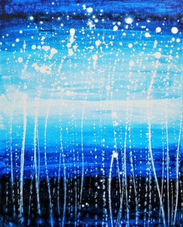 """Painting titled """"Cry softly"""" by Anton Rakun, Original Art, Acrylic Mounted on Stretcher frame"""