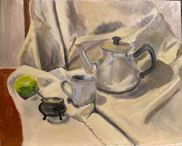 Still life Painting, oil, figurative, artwork by Antonietka