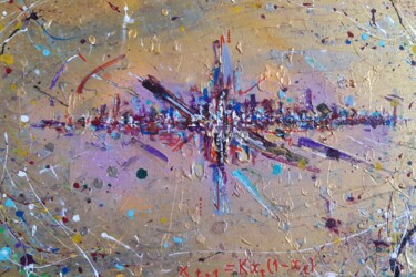 """Painting titled """"Chaos Theorem"""" by Antonio Bagia, Original Art, Acrylic"""
