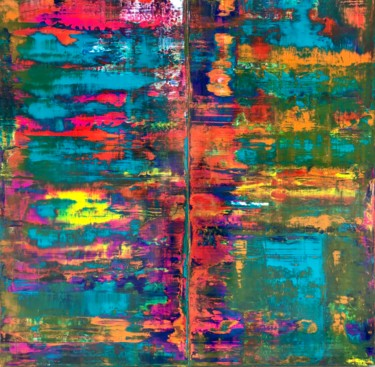 Painting, acrylic, abstract, artwork by Antonio Franchi