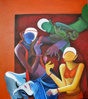 42x36x3 in © by Anupam Pal
