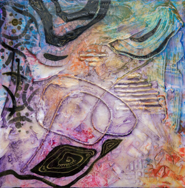 Painting, acrylic, abstract, artwork by Ariadna De Raadt