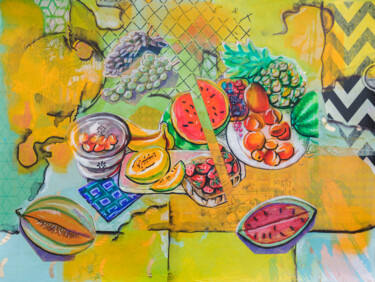Still life Painting, marker, illustration, artwork by Ariadna De Raadt