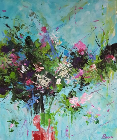 Painting, abstract, artwork by Arielle Rosin