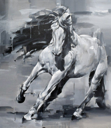 """Painting titled """"UNSTOPPABLE"""" by Arindam Biswas, Original Art, Acrylic"""