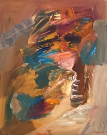 """Painting titled """"From light to other"""" by Armen Ghazayran (Nem), Original Art, Acrylic"""