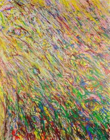 """Painting titled """"Il y a toujours l'œ…"""" by Arnaud Gautron, Original Art, Acrylic"""