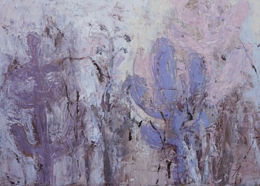 """Painting titled """"nature-abstract-oil…"""" by Vita Daneva, Original Art, Oil"""