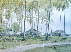 24x30 in ©1998 by Art Malaysian Paintings Sold