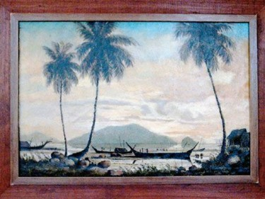 12x18 in ©1958 by Art Malaysian Paintings Sold