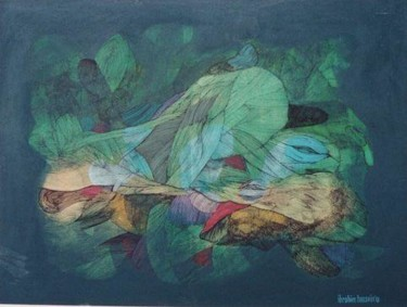 36x48 in ©1978 by Art Malaysian Paintings Sold