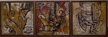 0.8x2.4 in ©1994 by Art Malaysian Paintings Sold