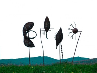 19.7x98.4x19.7 in ©2008 by Artdeev, Metal Art