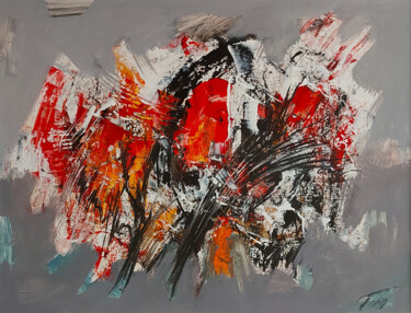 """Painting titled """"Composition-30"""" by Arthur Avalyan, Original Art, Oil"""