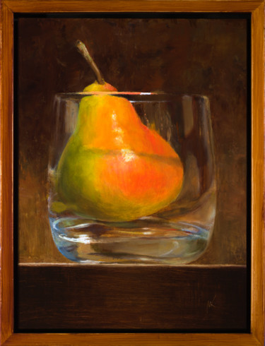 Still life Painting, oil, figurative, artwork by Artsmileball