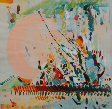 Color Painting, acrylic, abstract, artwork by Marius Vancea