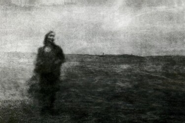 """Photography titled """"La Mer monte....."""" by Philippe Berthier, Original Art, Manipulated Photography"""