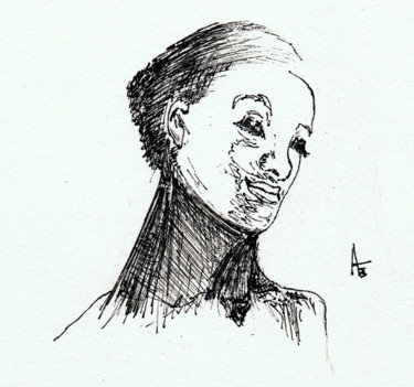 """Drawing titled """"Oh, please be my ba…"""" by Askew Mind, Original Art, Ink"""