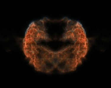 """Photography titled """"Jelly fish mirrored…"""" by David James, Original Art, Manipulated Photography"""