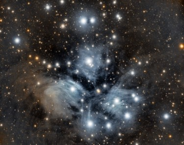 """Photography titled """"The pleiades"""" by David James, Original Art, Digital Photography"""