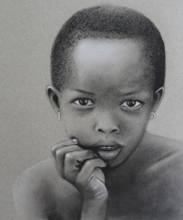 Drawing, charcoal, artwork by Atelier Linea