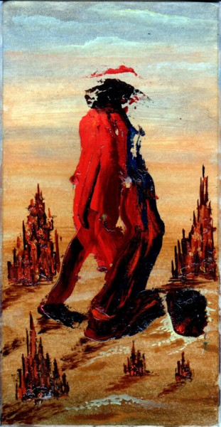Painting, oil, expressionism, artwork by Владимир Абаимов