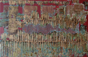 Abstract Painting, acrylic, abstract, artwork by Ayel