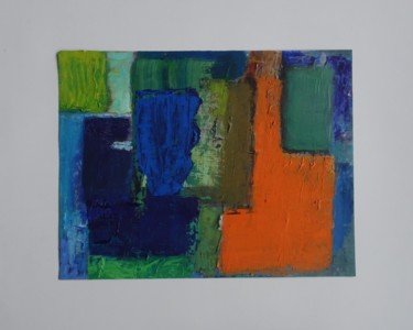 Abstract Painting, oil, abstract, artwork by Agnes Zirke