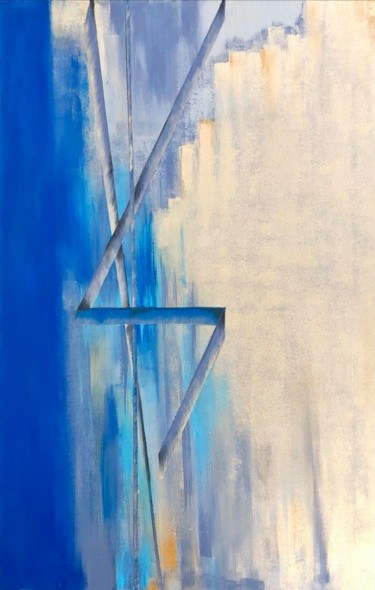 """Painting titled """"Where the sky touch…"""" by Veronika Holiencin, Original Art, Acrylic"""